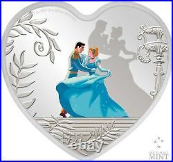2020 Niue Cinderella 70th Anniversary 1oz Silver Coin Low Mintage of 1950