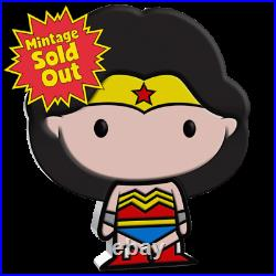 2020 Niue DC Comics WONDER WOMAN 1oz Silver Chibi Coin Justice League