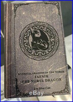 2020 Niue Dragons The Norse Dragon 2 oz. 999 Silver $5 Coin 2,000 Made