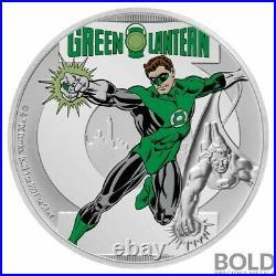 2020 Niue Green Lantern Justice League 60th Ann. 1 oz Silver Coin 1,960 Made