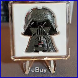 2020 Niue Star Wars Chibi Coin Darth Vader 1 Oz Silver COA