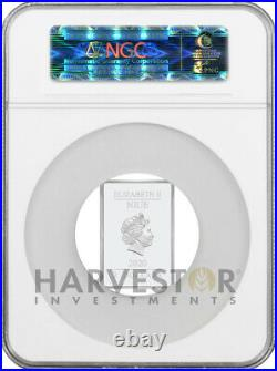 2020 The Caped Crusader Batman Poster Coin Ngc Pf70 First Releases