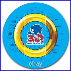 2021 Niue 1 oz Gold Sonic the Hedgehog 30th Anniversary Coin BU SKU#232431