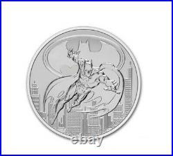 2021 Niue 1 oz Silver BATMAN $2 NGC MS70 ER DC Comics Justice LeaguePre-Sale
