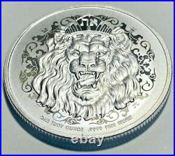 2021 Niue 2 Dollars Roaring Lion Judah Silver EXTREMELY RARE IN STOCK IN HAND