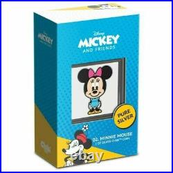 2021 Niue Chibi Disney Series Minnie Mouse 1oz Silver Coin IN HAND