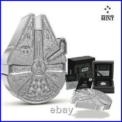 2021 Niue Star Wars 1oz Millennium Falcon shaped coin