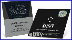 2021 Niue Star Wars Mandalorian Cara Dune 1 oz Silver Coin READY TO SHIP