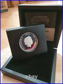 2021 Niue Star Wars Mandalorian Cara Dune 1 oz Silver Coin Sold out at mint