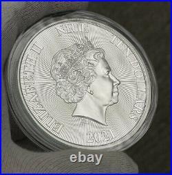 2021 Niue Tree Of Life 5 oz Silver High Relief Coin BU