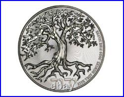 2021 Niue Tree Of Life 5oz Silver High Relief Coin BU InHand
