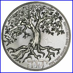 2021 Niue Tree Of Life 5oz Silver High Relief Coin BU (Limited Mintage 1,000)