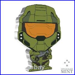 2021 Niue XBOX HALO Master Chief CHIBI 1oz Silver Proof Coin SOLD OUT