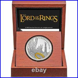 2021 The Lord Of The Rings Sauron 1 Oz. Silver Coin