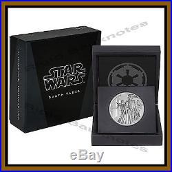 5 x Niue Disney Star Wars Proof Silver Coin 1 oz 2016 Darth Vader Mint