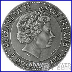 AMBER SCARABAEUS 2 Oz Silver Coin 5$ Niue 2020