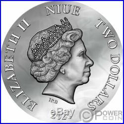 ANASTASIYA Dark Beauties Silver Coin 2$ Niue 2020