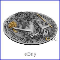 ATHENA AND MINERVA Goddesses Series 2oz. 999 fine silver coin Niue 2019