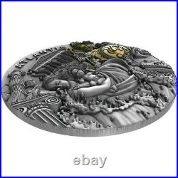 Atlantis Legendary Lands 5 Dollars 2 Oz Silver Coin 2019 Niue