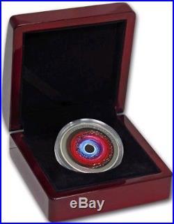 B2017 1 Oz Silver $2 SUPERMASSIVE BLACK HOLE Coin, Niue