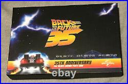 BACK TO THE FUTURE 35TH ANNV LICENSE PLATE 2020 2 oz Silver Proof coin NIUE