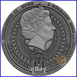 BELLONA ROMAN GODS 2 Oz Silver Coin 2$ Niue 2018 PRESALE