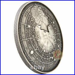 BIG BANG Universe Dome 2 Oz Silver Coin 5$ Niue 2019