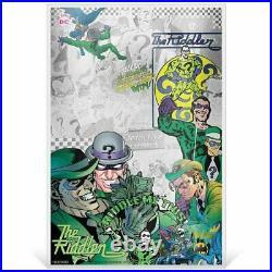 Batman Villains Silver 5 Coin Note Series JOKER, HARLEY QUINN, RIDDLER, TWO FACE