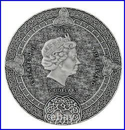 CELTIC CALENDAR 2 Oz Silver Coin 2$ Niue 2020
