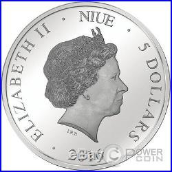COLOSSUS OF NERO Holo Vision Colosseum Hologram 3 Oz Silver Coin 5$ Niue 2016