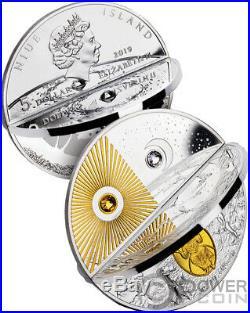 CREATION WORLD 2 Silver Coin 5$ Niue 2019
