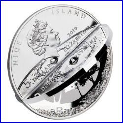 CREATION WORLD 3D 2 oz Silver Coin 5$ Niue 2019