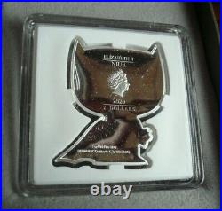 Chibi BATMAN, DC Comics 1 oz. 999 Silver Coin Round in Box 2000 Mintage