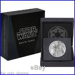 DARTH VADER Star Wars Classic 2016 1 oz Silver Coin Niue New Zealand Mint