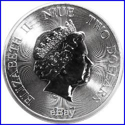 Daily Deal Lot of 10 2017 $2 Niue Silver African Lion. 999 1 oz Brilliant Un