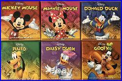 Disney 2014 Collectible 1 Oz Silver Coin Set Mickey Mouse New Zealand Mint Niue