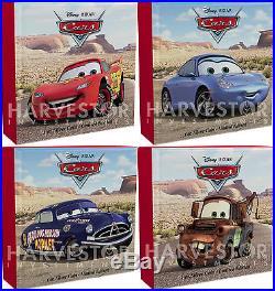 Disney Pixar Cars Complete 4-coin Collection 4 X 1 Oz. Silver Coins Ogp Coa