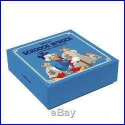 Disney's Scrooge McDuck $2 NIUE 1 oz Silver Coin. 999 Fine Pure Ag Silver