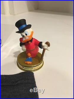 Disney's Scrooge McDuck $2 NIUE 1 oz Silver Coin. 999 & bonus figures and shirt