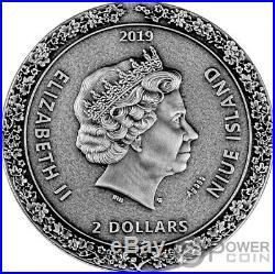 GEISHA Japanese Culture 2 Oz Silver Coin 2$ Niue 2019