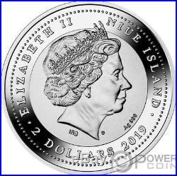 GENIUS RENAISSANCE Da Vinci 500th Anniversary 1 Oz Silver Coin 2$ Niue 2019