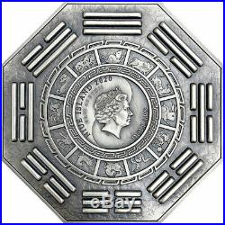 GODDESS OF MERCY WITH ONE THOUSAND HANDS 5 Oz Silver Coin 10$ Niue 2020