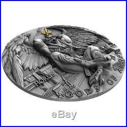 GODS OF ANGER HORUS 2020 Niue 2oz silver coin
