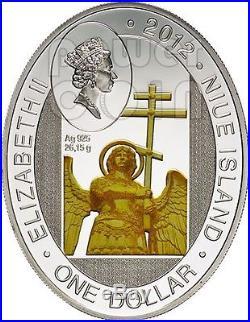 IVERSKAYA CHAPEL Moscow Orthodox Church Silver Coin 1$ Niue Island 2012