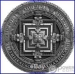 KALACHAKRA Ancient Calendars 2 Oz Silver Coin 5$ Niue 2019