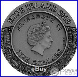 KALACHAKRA Ancient Calendars 2 Oz Silver Coin 5$ Niue 2020