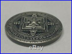 KALACHAKRA MANDALA ANCIENT CALENDARS 2019 2 oz Pure Silver UHR Coin NIUE