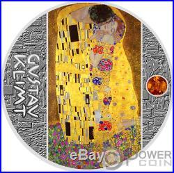 KISS Gustav Klimt Golden Five Silver Coin 1$ Niue 2018