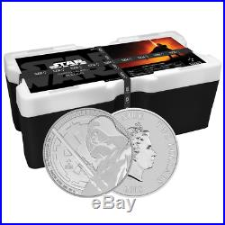 Lot of 250 2018 $2 Niue Silver Darth Vader Star Wars. 999 1 oz BU Monster Box