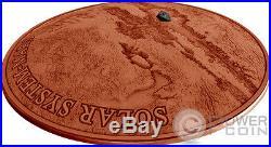 MARS NWA 7397 Meteorite Solar System 1 Oz Silver Coin 1$ Niue 2017